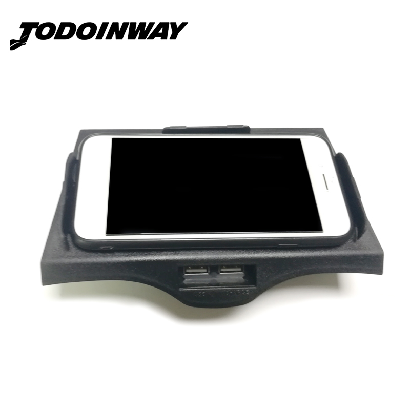 For BMW 5 6 Series F10 G30 G38 520i 528i QI wireless charging phone charger center console charigng case interior accessories