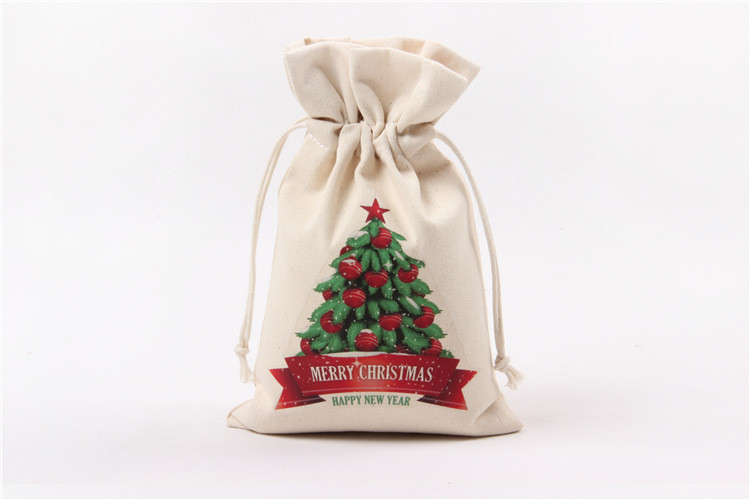 DHL Wholesale Christmas Gift Bags Large Canvas Santa Sack