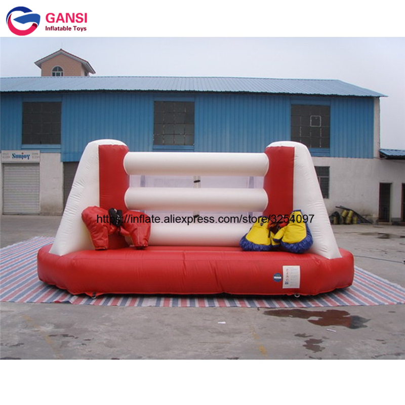 US $880 0 |Indoor inflatable floor boxing ring for sale jumper bouncer  sport game factory price customized logo inflatable wrestling ring -in