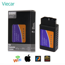 Elm327 Wi-fi OBD2 V1.5 Diagnostic Car Auto Scanner With Best Chip Elm 327 Wifi OBD Suitable For IOS Android/iPhone Windows