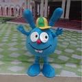 2014 high quality  Smesharik krosh Mascot Costume blue rabbit Mascot Costume Free shipping