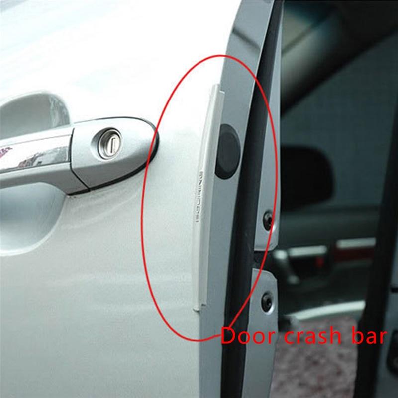 8pcs New Auto Door Edge Guards Trim Molding Protection Strip Scratch Slim Style
