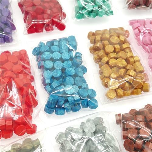 Vintage Sealing Wax Tablet Pill Beads Granule/grain/strip Sticks For Stamping Wax Seal Ancient Sealing Wax 30g,100~105pcs In BAG