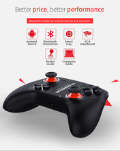 VR SHINECON Bluetooth Virtual Reality Glasses Gamepad Wireless Joystick Handle Controller For 3D VR Glasses PC Smartphone