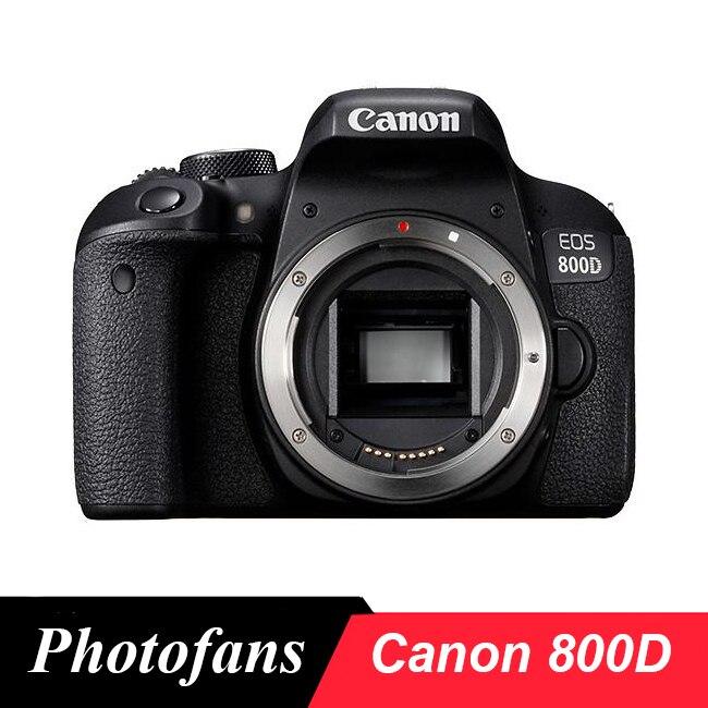 Canon 800D rebelde T7i DSLR Cámara