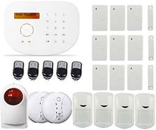 Free DHL Gsm alarm system,Wireless & Wired GSM Home Security Alarm System IOS/Android App,GSM Home Alarm System