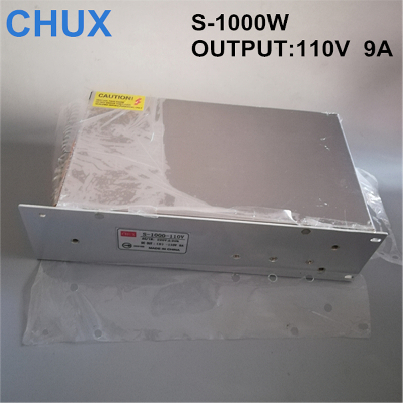 1000W 9A 110V switching power supply 110v adjustable voltage ac to dc adjustable currentpower supply for Industrial field 1000w 9a 110v switching power supply 110v adjustable voltage ac to dc power supply for industrial field