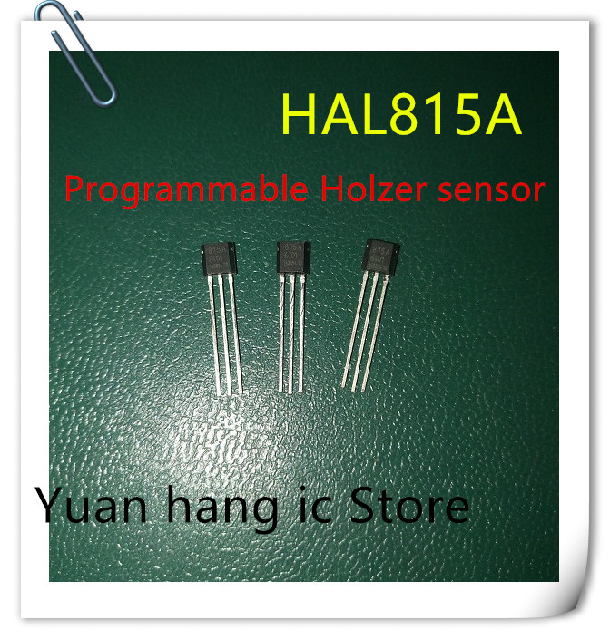 Free Shipping 5pcs/lot Programmable Hall HAL815A Marking 815a HAL815UT-A HAL815 New Original