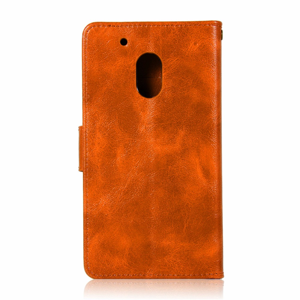 Fashion Wallet Handset cover For Motorola Moto G4 Play Case 5.0 For Moto G4 Play Phone Bag with Stand PU Flip Leather Case