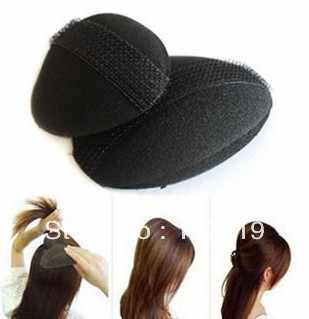 hair ornaments hairdressing tool princess style hair heighten device bulkness sponge hair maker pad T-4.50