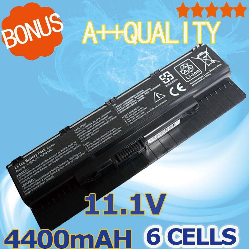 4400mah Laptop battery New A32-N56 For Asus A31-N56 A33-N46 N56 G56 G56J G56J G56JR N46 N46J N46JV N46V N46VB N46VJ N46VM все цены