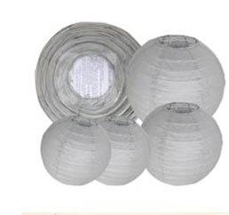 "20 pcs 6""-12"" White Paper Lanterns Chinese Japanese Paper Lanterns for Wedding Party Halloween Hanging Diy Decor Favor 33"