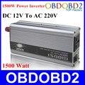 Melhor Qualidade 1500 W Carregador Regulador de Tensão para Uso Doméstico de Potência Do Inversor 1500 W Doxin DC 12 V para AC 220 V 1500 Watt Converter Free
