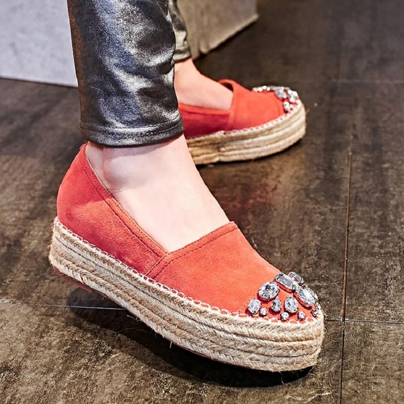 Mujer rouge gris Espadrilles Fashions Nouveau Plataforma Noir Femmes Zapatos Womans Chaussures Femme Dames 2018 57ZO1fq