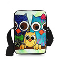 New Cartoon Owl Bag Mini Messenger Bags for Women Crossbody Sling Bags Bolsos Mujer Small Shoulder Bag Kids Handbags Multicolor
