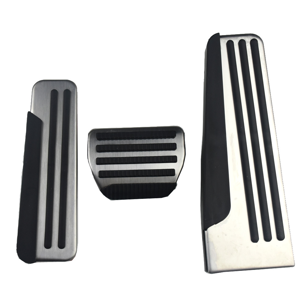 Foot Rest Pedal Cover Pads For Infiniti Q50 Q60 Q70 QX50 QX70 G25 G35 G37 M25 EX FX Car Styling цена