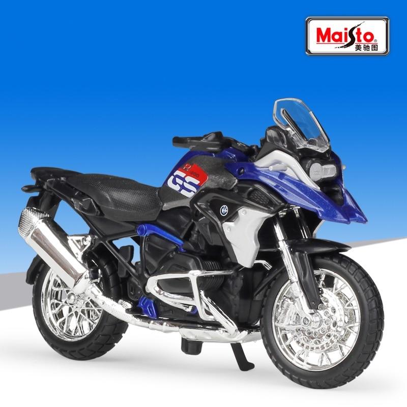 1:18 Maisto 2017 BMW R1200GS Diecast Motorcycle