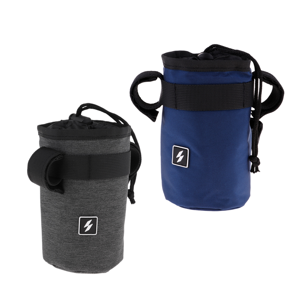 Sports Bike Water Bag Bottle Holder Carrier Pouch Cycling Kettle Stem Bicycle