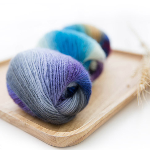 Wholesale 5 Pieces 250g/lot Pure Wool Kintted By 2.5mm Crochet High Quality Thick Woolen Yarn For Knitting Scarf Free Shipping
