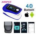 רוויון חמצן בדם דופק Oximeter אצבע מותג Bluetooth האלחוטית מגשר JPD-500F Oximetro de dedo מוניטור עבור IOS אנדרואיד