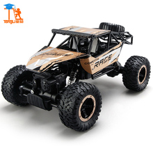 Large New Arrival 1:14 4WD RC Cars Updated Version 2.4G Radio Control RC Cars Buggy High speed Off-Road Truck toys for Kids TL