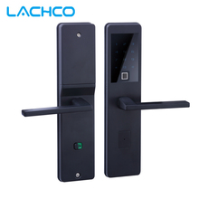 LACHCO 2018 Bluetooth Biometric Electronic Door Lock APP,Smart Fingerprint, Code, Key Touch Screen Digital  door L18025FB