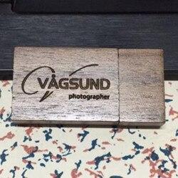 Nowe drewniane orzech plac USB 3.0 pamięci flash stick pen drive