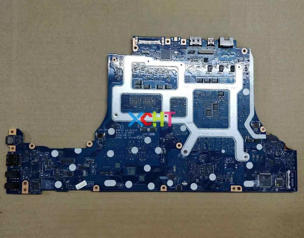 for Dell Alienware 15 R3 17 R4 RNF7V CN-0RNF7V BAP10 LA-D751P i7-7700HQ  N17E-G2-A1 GTX1070 8GB Motherboard Mainboard Tested