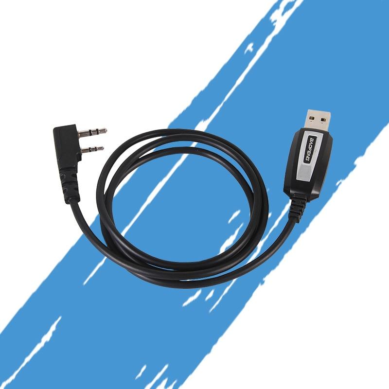 Baofeng USB Programming Cable For Baofeng Two Way Radio UV-5R, BF-888S, BF-F8+ With Driver CD