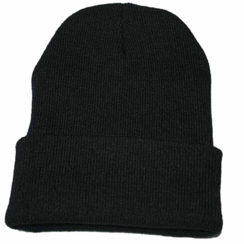 Unisex Slouchy Knitting Beanie Hip Hop Cap Warm Winter Ski hats caps men winter hats for women bonnet femme gorras para hombre