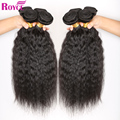 "Unprocessed Indian Virgin Hair Kinky Straight 4pcs Indian Curly Virgin Hair Coarse Yaki Human Hair Extensions 8""-26"" Indian Hair"