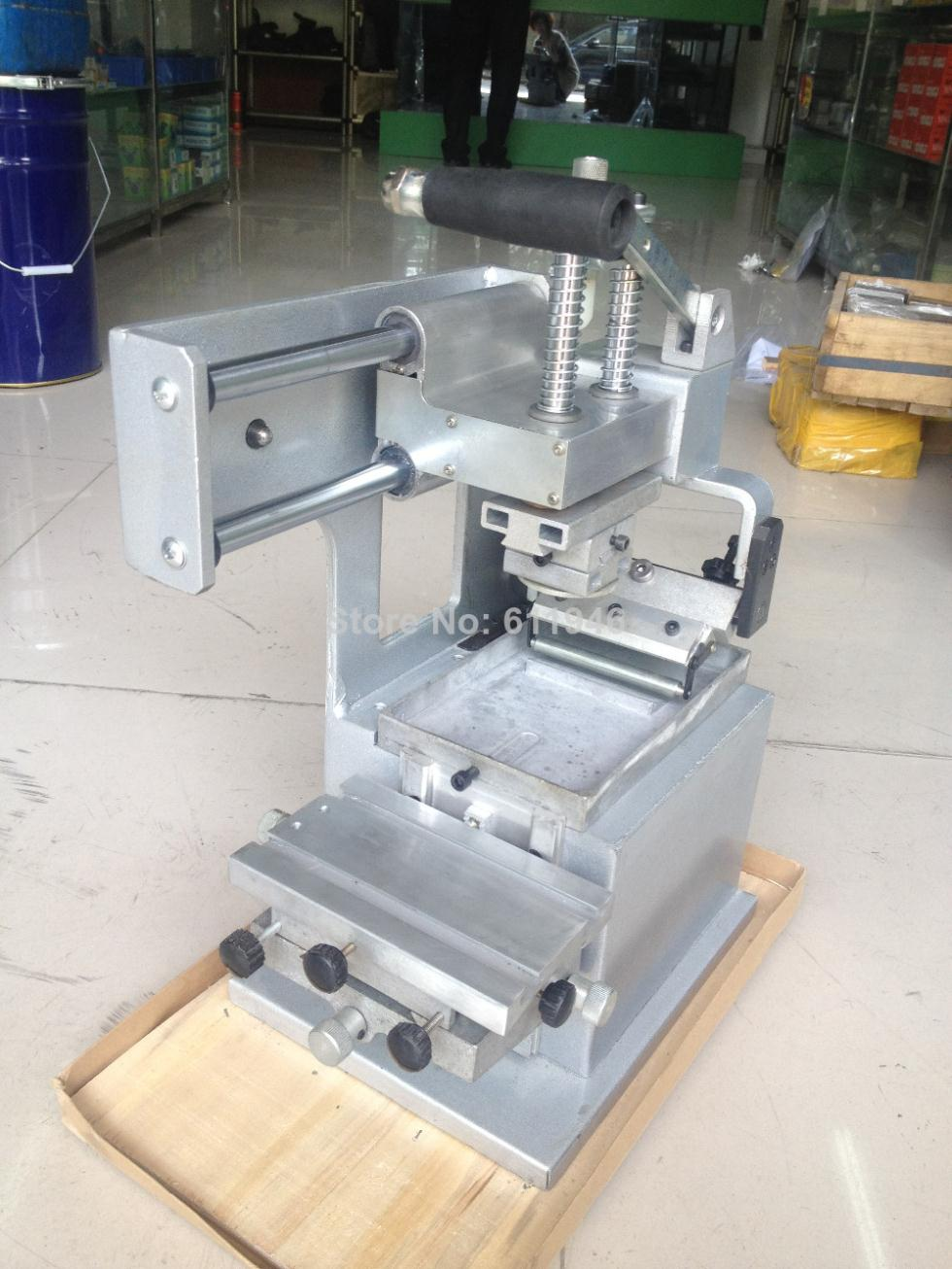 1PC käsitsi pad trükimasinate ettevõtte logo printeritehnika ühevärvilised õlide stantsimine printeri kujundus die pardal pad pea