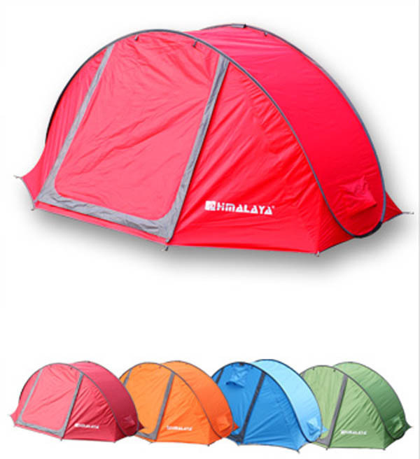 2014 new style high quality 3-4persons quick open family tent/2second pop up outdoor camping tent in many colors new arrival 3 4persons one bedroom