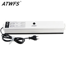 ATWFS Vacuum Food Sealer 220V/110V Packaging Sealing Machine Kitchen Vaccum Sealer Packer with 15pcs Vacuum Bags for Food Saver(China)