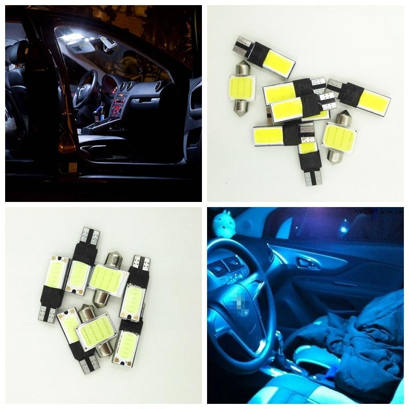 8 stks Wit Ijsblauw Led lampen Voor 2002 2003 2004 Nissan Xterra ...