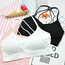 цена Cotton Teenage Sexy Girl Underwear Training Bra Underwear for Teen Girls Bra for Teens Girl Bras Wireless Undergarments онлайн в 2017 году