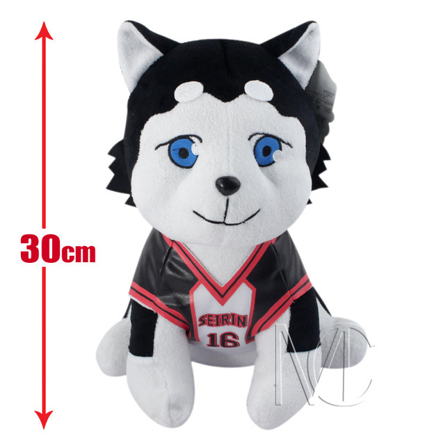 NEW hot 30cm Kuroko No Basketball Kuroko Tetsuya NO 2 Tetsuyanigo dog Plush Toys soft Stuffed Doll Christmas gift