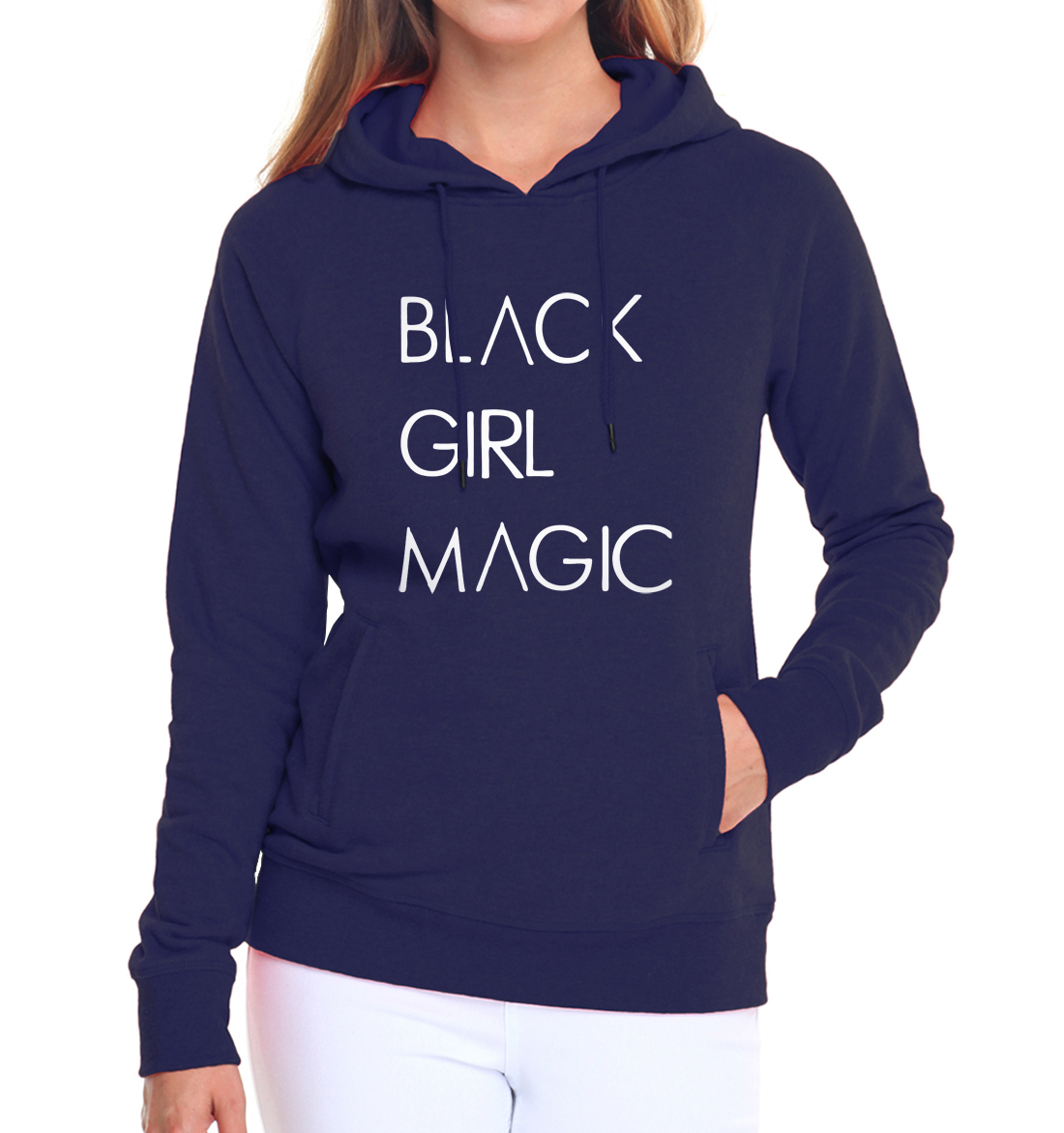 2019 hip-hop sweatshirts harajuku Women BLACK GIRL MAGIC hoodies long sleeve hipster pullovers femme Casual kpop tracksuits 2019