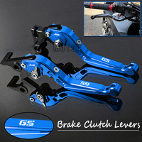 Motorcycle CNC Brake Clutch Levers For BMW G650GS F650GS Dakar F700GS R1200GS LC Adjustable Folding Lever G F R 650 700 1200 GS