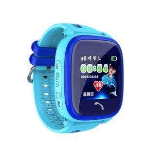 Image 4 - DF25 IP67 GPSสมาร์ทนาฬิกากันน้ำเด็กนาฬิกาเด็กสัมผัสหน้าจอSOSโทรSafe Anti Lost PK Q50 q90