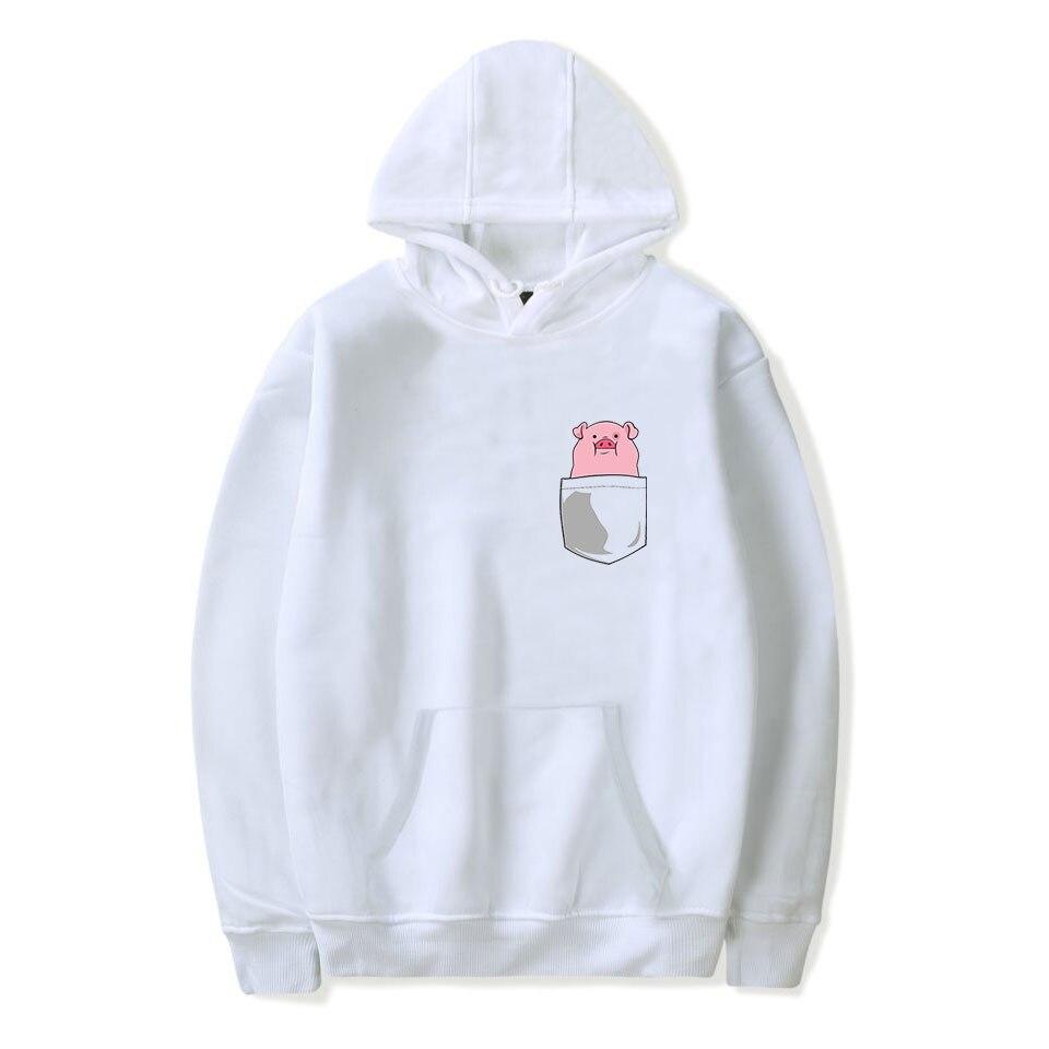 Women's Clothing Humor Luckyfridayf Kpop New 2019 Year Of The Pig Trend Hoodies Sweatshirts Women/men Kpop Hip Hop Trend Sala Hot Fashion Hoodies