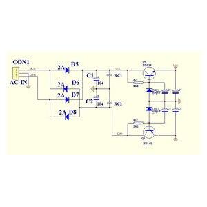 Image 4 - E4 çift diferansiyel FET giriş güç amplifikatörü kurulu kiti sınıf A MOS güç tüpü çıkış amp (718 askeri göstergesi direnç)