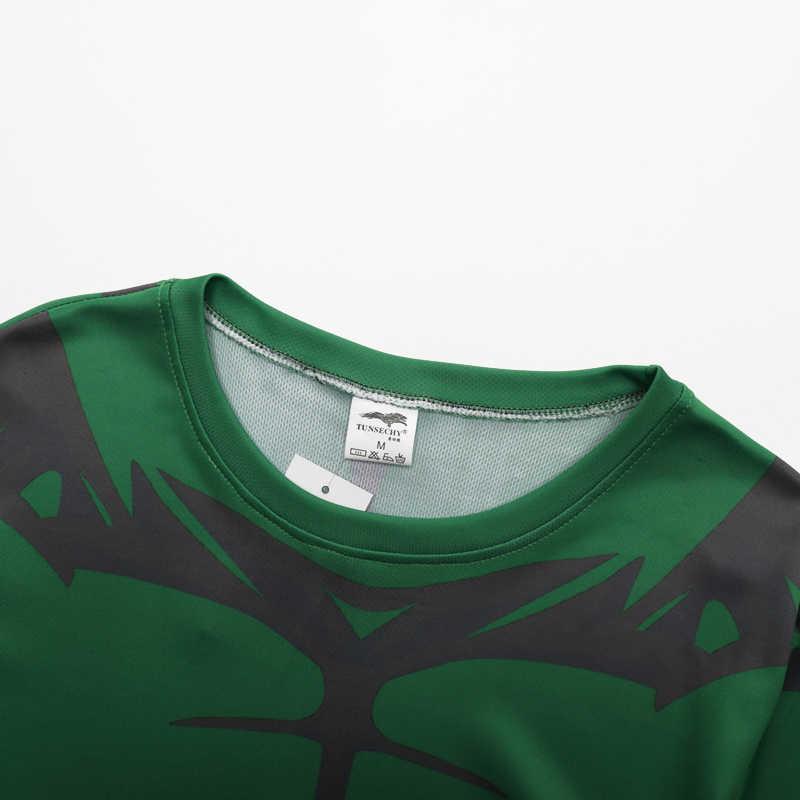 Yeni 2017 süper kahraman kaptan Amerika 2 zip likra tayt spor T-Shirt t-shirt batman superman punisher örümcek adam T-shirt