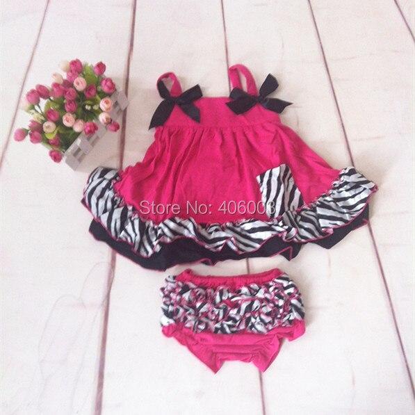 Nouvelle arrivée nouveau-né chevron swing top coton ensemble avec zèbre  ruche bébé vêtements bébé Infantile bloomer ensembles livraison gratuite 20fa92d0114