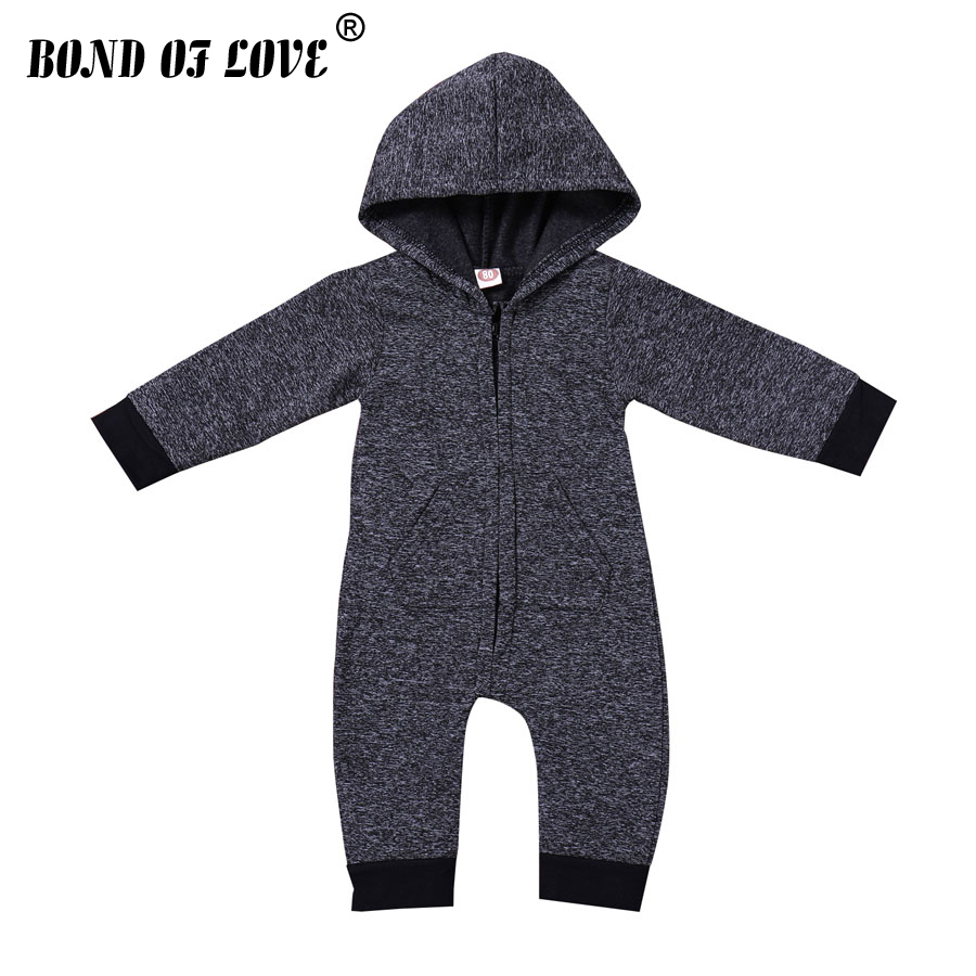 Spring Infant Romper 2018 Flannel Newborn Baby Boys Girl Clothing Solid Onesie Jumpsuit Baby Custome New Born Kids Clothes baby clothing summer infant newborn baby romper short sleeve girl boys jumpsuit new born baby clothes