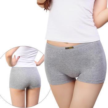 0676a4c7a Women Cotton Boyshort Panties softWomen sexy Cotton Underwear Women Boxer  Shorts sexy Lady Panties Lingerie Intimates briefs
