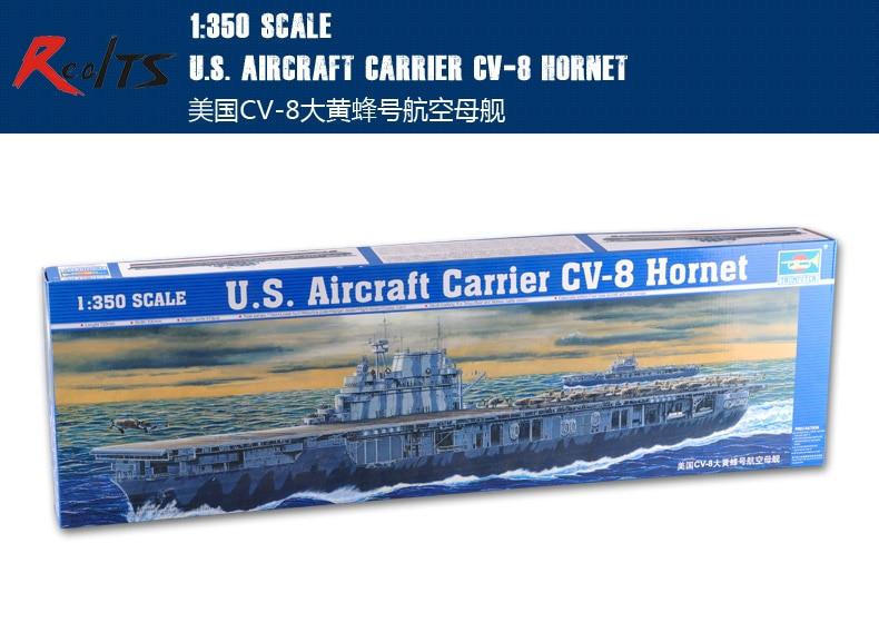 RealTS Trumpeter 1/350 05601 U.S. Aircraft Carrier CV-8 Hornet Model Kit