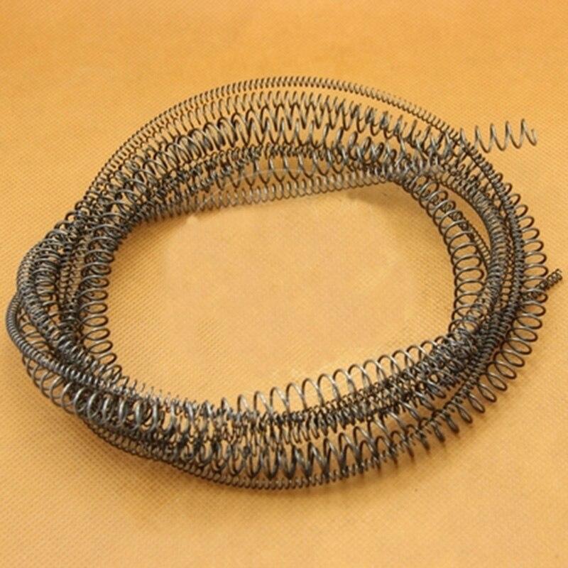 1 pièces 2.5mm fil diamètre Compression ressorts ressort acier y-type pression ressort 13mm-28mm diamètre extérieur 1000mm longueur