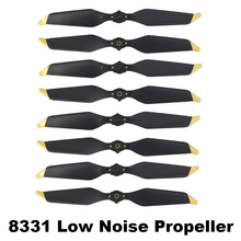 8 Pieces Replacement 8331 Low Noise Propeller for DJI MAVIC PRO Platinum Drone Spare Parts Props Folding Blade Accessory Wing dji phantom 3 9455s carbon fiber propeller low noise props folding propeller for phantom 2 drone parts noise reduction 9455 wing