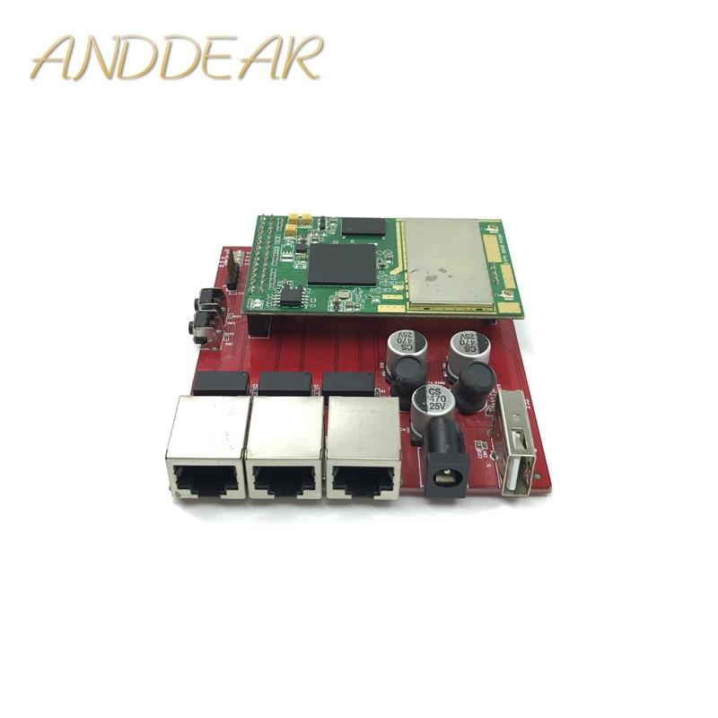 a mini-type wireless router dual band 5.8G 2.4G router wifi module openwrt ar9344 atheros wireless module WIFI core module